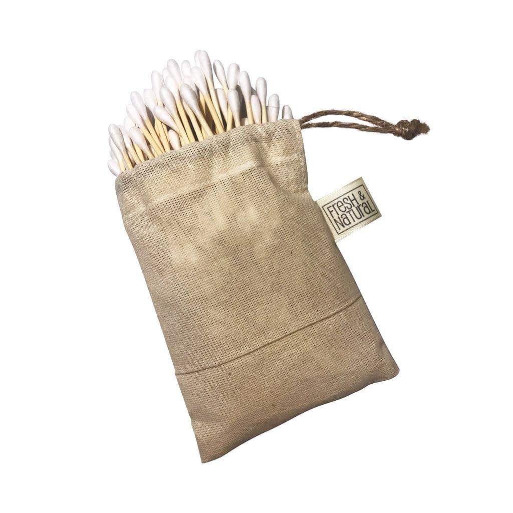 Bambusowe patyczki higieniczne - Fresh&Natural