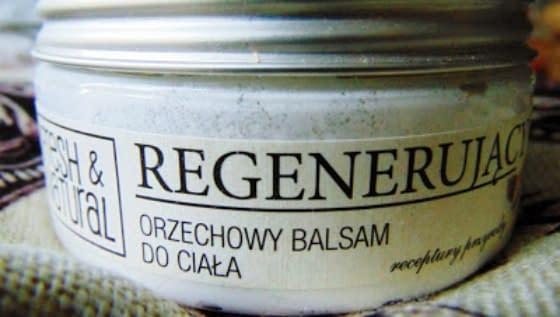 Orzechowy balsam do ciała Fresh&Natural