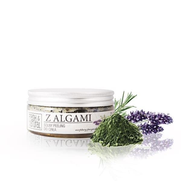 Solny peeling do ciała Z ALGAMI 250 g