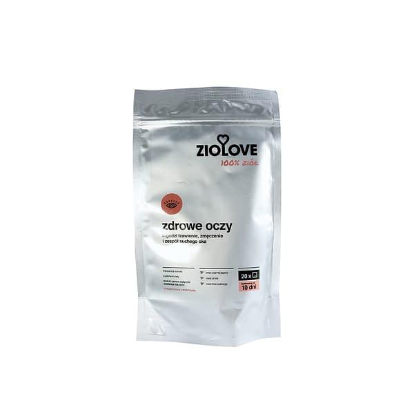 Zioła na zdrowe oczy - herbata ziołowa ZIOLOVE
