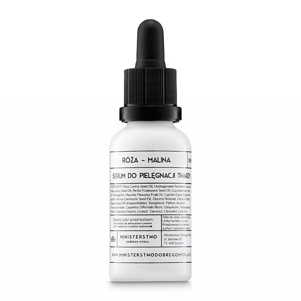Serum do pielęgnacji twarzy Róża - Malina 30 ml