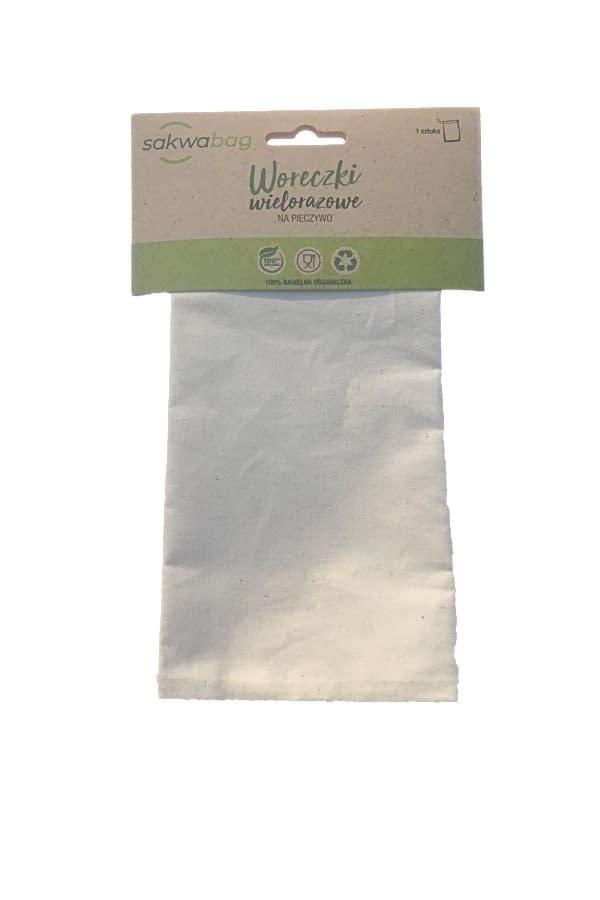 Wielorazowy woreczek na pieczywo ZERO WASTE - SakwaBag